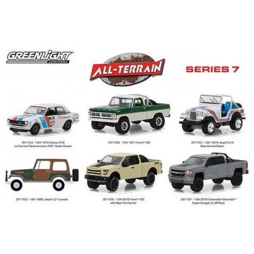 Greenlight All-Terrain Series 7 - Six Piece Set
