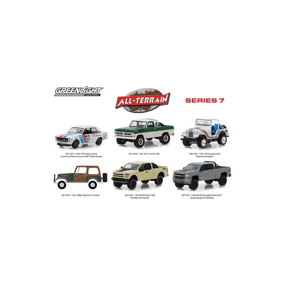Greenlight All-Terrain Series 7 - Six Piece Set