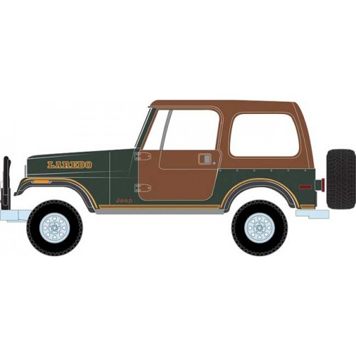 Greenlight All-Terrain Series 7 - 1980 Jeep CJ-7 Laredo