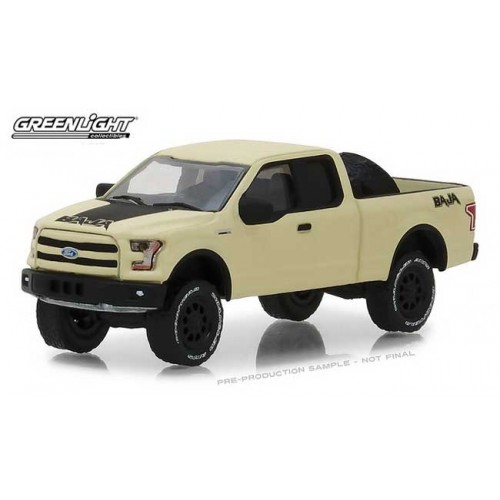 Greenlight All-Terrain Series 7 - 2016 Ford F-150 with Baja Tire Carrier