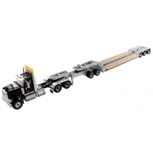 Diecast Masters International HX520 with Lowboy Trailer