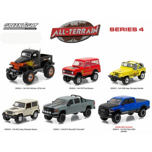 All-Terrain Series 4 - Six Truck Set