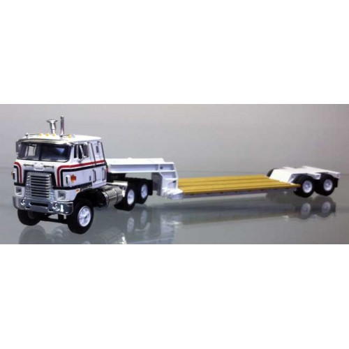 DCP International Transtar with Rogers Lowboy White