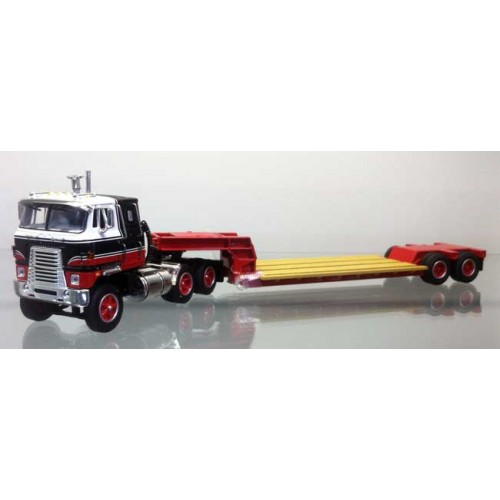 DCP International Transtar with Rogers Lowboy Trailer