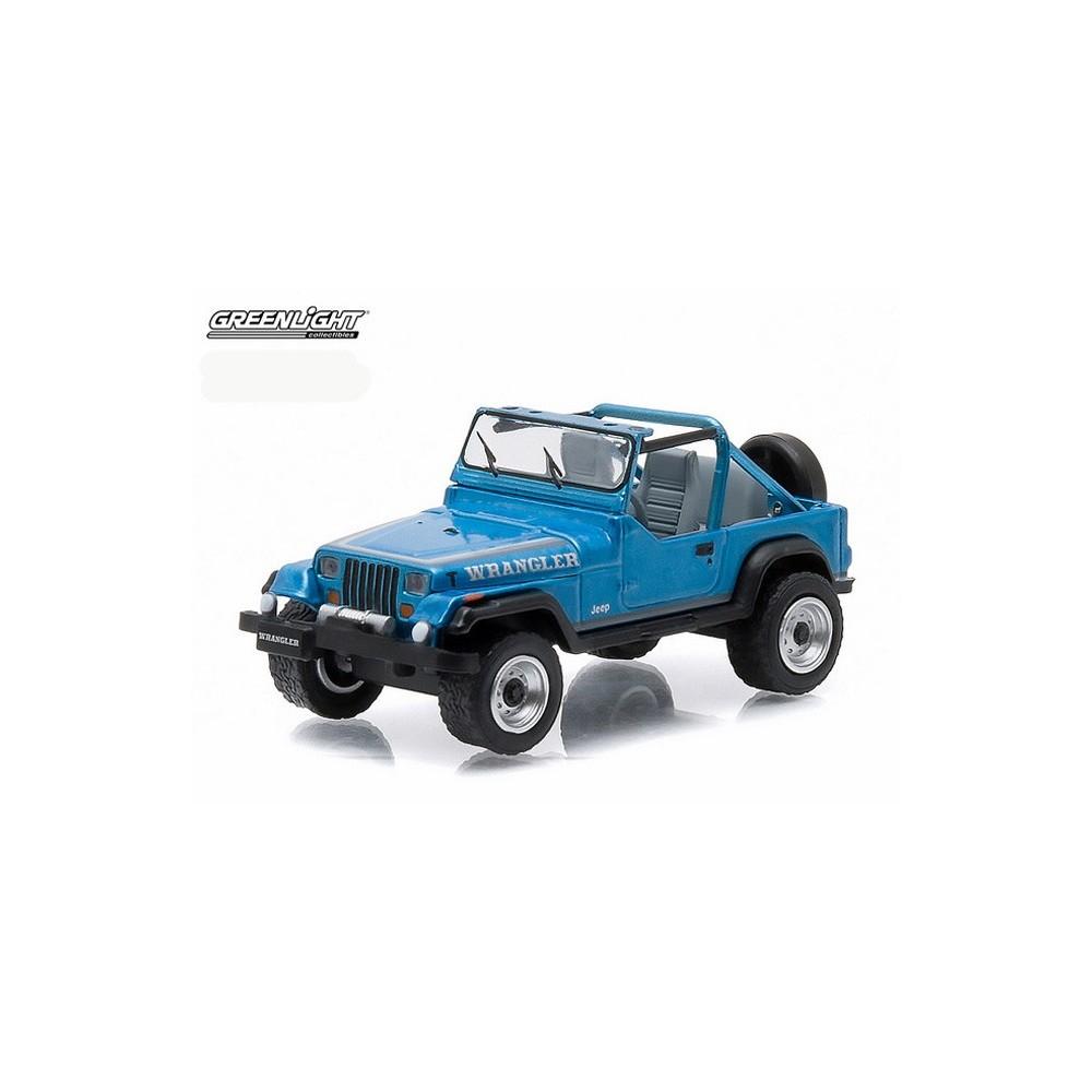 Green Jeep Wrangler >> Greenlight All-Terrain Series 3 - 1987 Jeep Wrangler