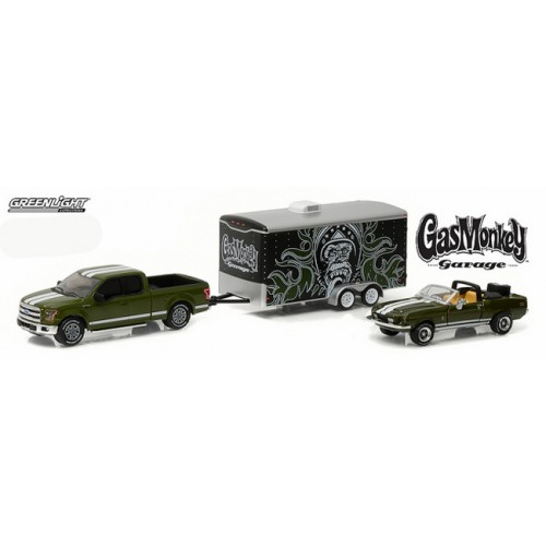 Greenlight Hollywood Hitch and Tow Series 1 - Gas Monkey Garage