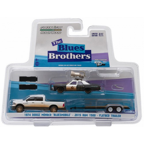 Greenlight Hollywood Hitch and Tow Series 1 - Blues Brothers