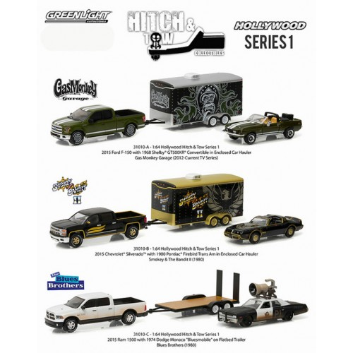 Greenlight Hollywood Hitch and Tow Series 1 - Set