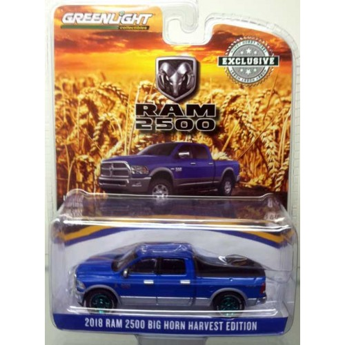 Greenlight Hobby Exclusive - 2018 RAM Big Horn Harvest Edition Green Machine