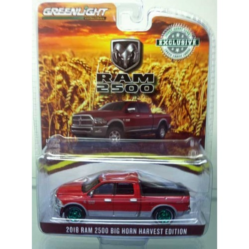 Greenlight Hobby Exclusive - 2018 RAM 2500 Big Horn Harvest Edition Green Machine