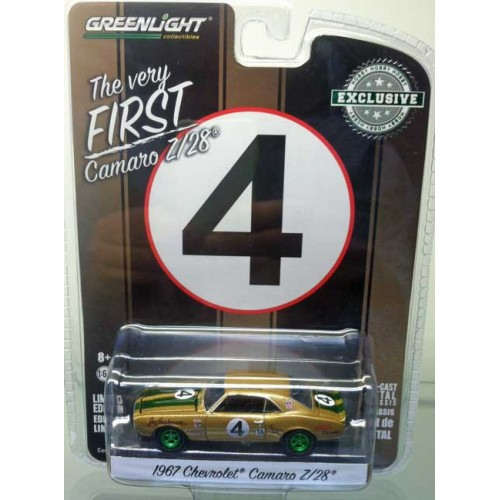 Greenlight Hobby Exclusive - 1967 Chevy Camaro Z/28 Green Machine