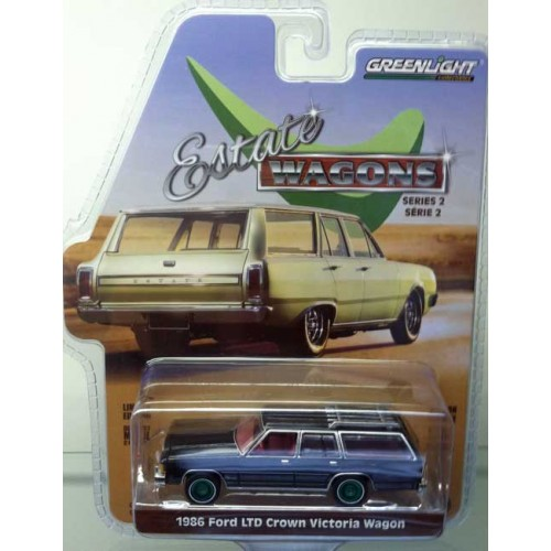 Greenlight Estate Wagons Series 2 1986 Ford LTD Wagon Green Machine