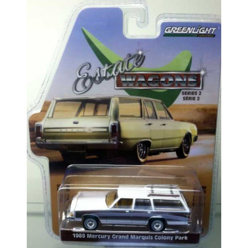 Greenlight Estate Wagons Series 2 - 1989 Mercury Marquis Green Machine