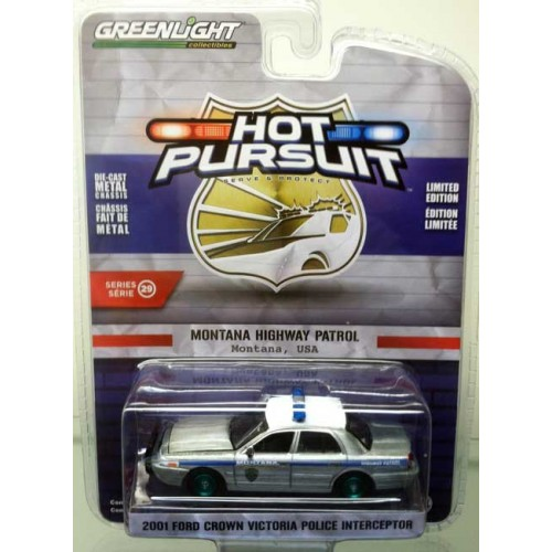 Greenlight Hot Pursuit Series 29 - 2001 Ford Crown Victoria Green Machine