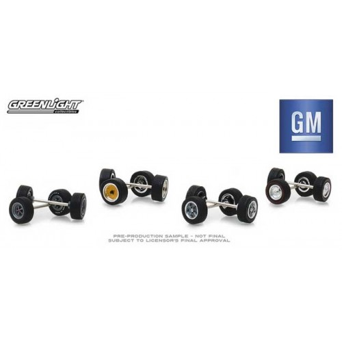 Greenlight Hobby Exclusive - General Motors Wheel and Tire Pack