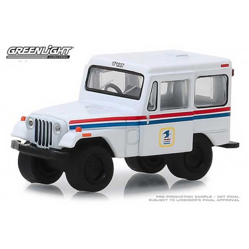 Greenlight Hobby Exclusive - 1971 Jeep DJ-5 USPS