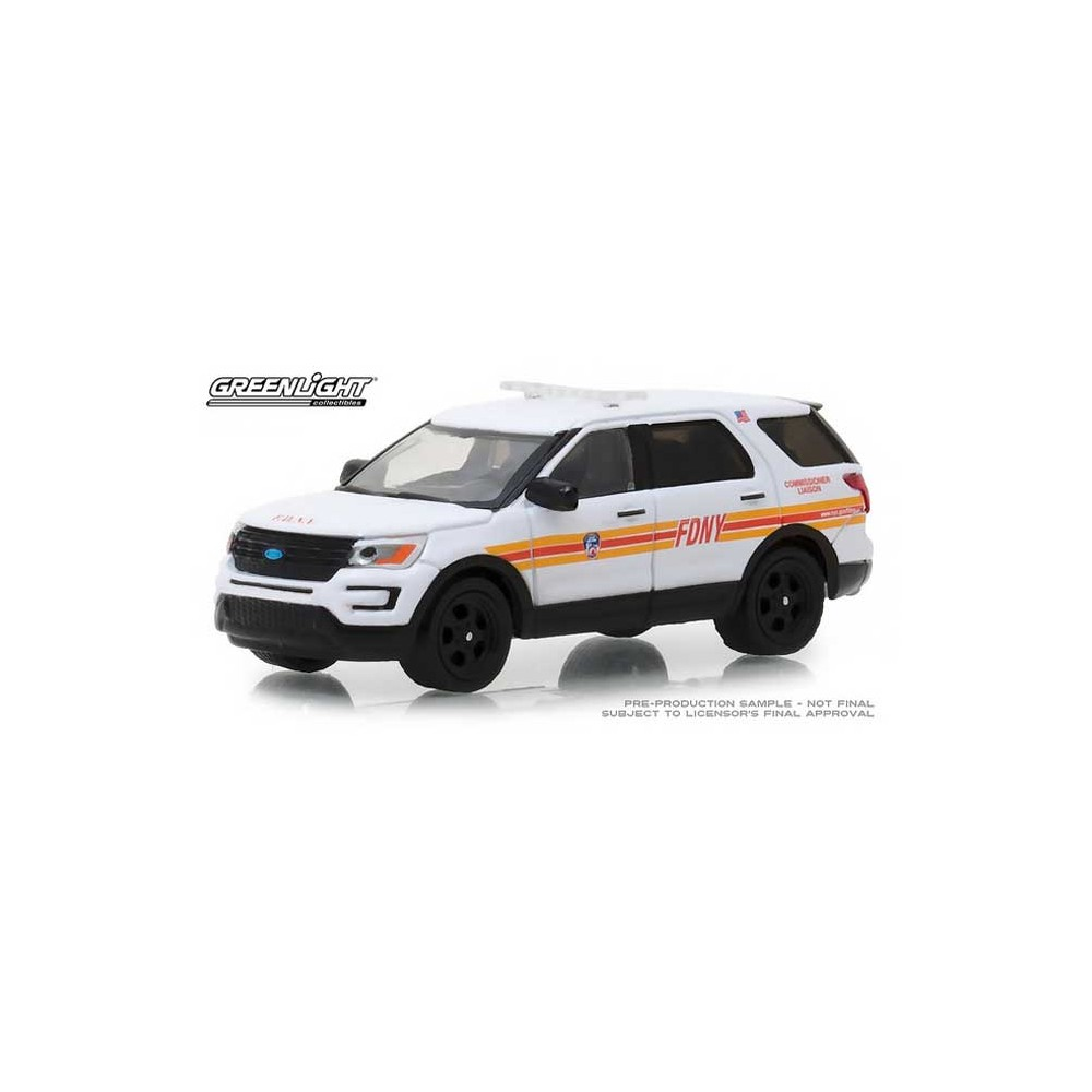 Greenlight Hobby Exclusive - 2017 Ford Interceptor Utility FDNY