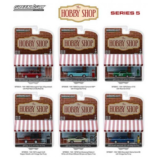Greenlight The Hobby Shop Series 5 - Six Car Set