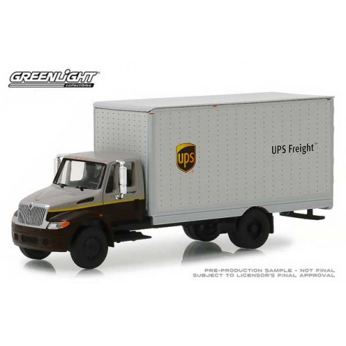 Greenlight HD Trucks Series 15 - International DuraStar UPS  Box Van