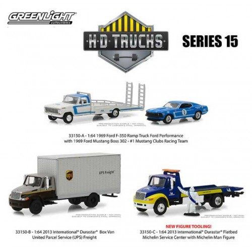 Greenlight HD Trucks Series 15 - Three Truck Set