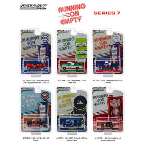 Greenlight Running on Empty Series 7 - Six Piece Set