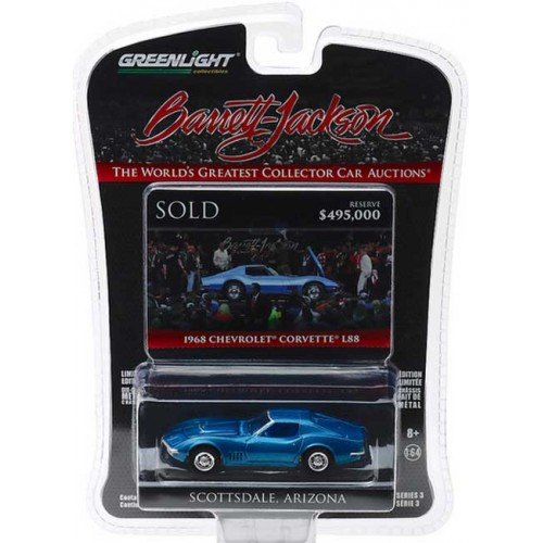 Greenlight Barrett-Jackson Series 3 - 1968 Chevy Corvette L88