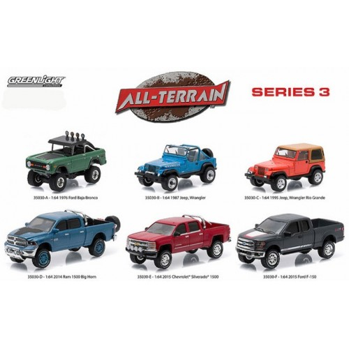 All-Terrain Series 3 - Six Truck Set