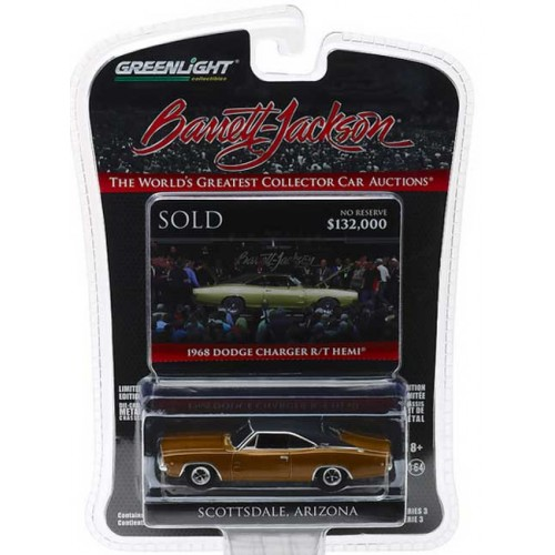 Greenlight Barrett-Jackson Series 3 - 1968 Dodge HEMI Charger R/T