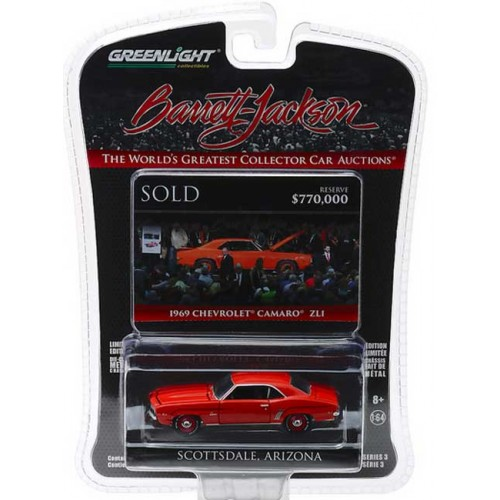 Greenlight Barrett-Jackson Series 3 - 1969 Chevy Camaro ZL1
