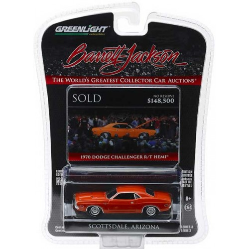 Greenlight Barrett-Jackson Series 3 - 1970 Dodge HEMI Challenger R/T