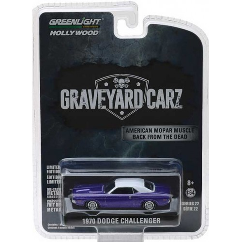 Greenlight Hollywood Series 22 - 1970 Dodge Challenger R/T