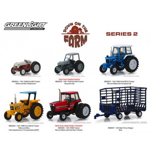 Greenlight Down on the Farm Series 2 - Six Piece Set