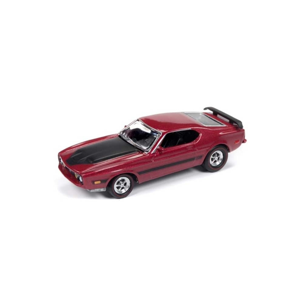 Johnny Lightning Classic Gold - 1973 Ford Mustang Mach 1