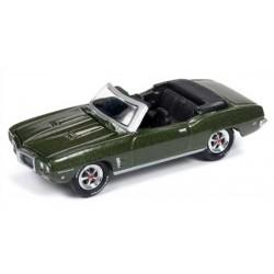 Johnny Lightning Classic Gold - 1969 Pontiac Firebird Convertible
