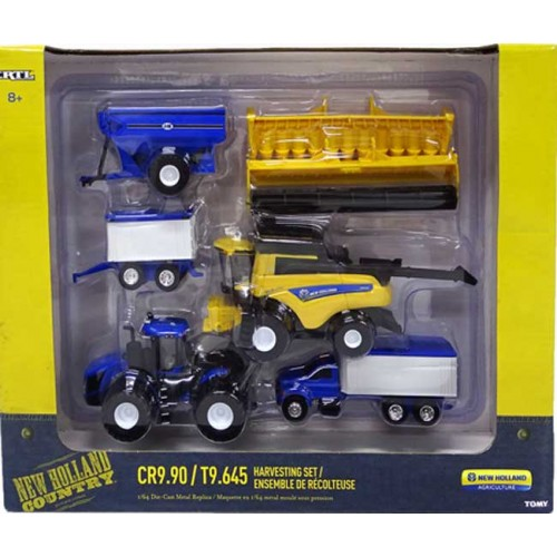 Ertl New Holland Harvesting Set
