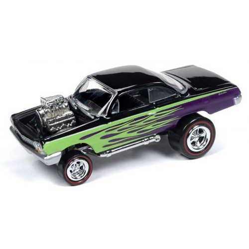 Johnny Lightning Street Freaks - 1962 Chevy Bel Air Bubbletop Zinger
