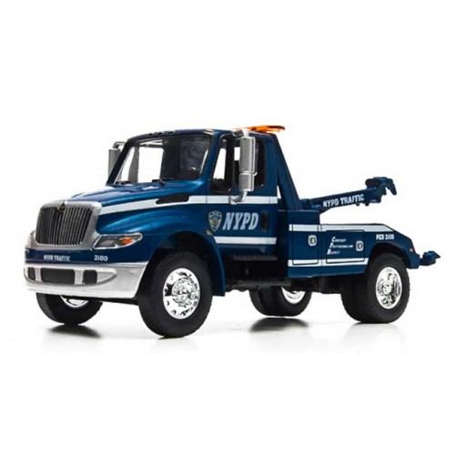 Greenlight Hobby Exclusive - International DuraStar Tow Truck NYPD