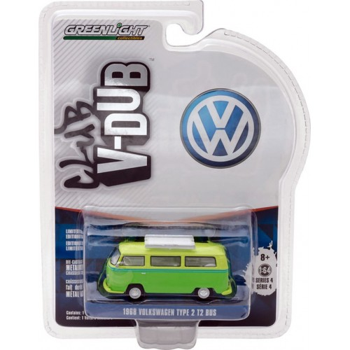 Club Vee-Dub Series 4 - 1968 Volkswagen Type 2 T2 Bus