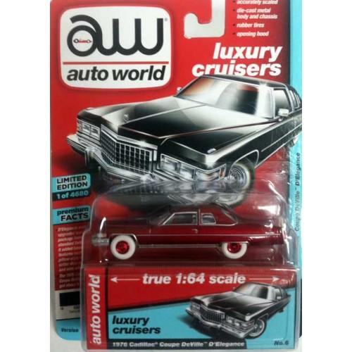 Auto World Premium - 1976 Cadillac Coupe DeVille Chase Version