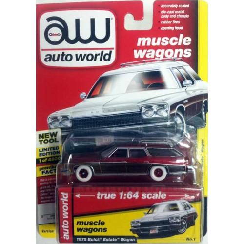 Auto World Premium - 1975 Buick Estate Wagon Chase Version