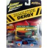 Johnny Lightning Demolition Derby - 1965 Chevy Station Wagon White Lightning
