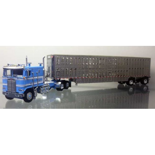 DCP Kenworth K100 COE with Wilson Livestock Trailer