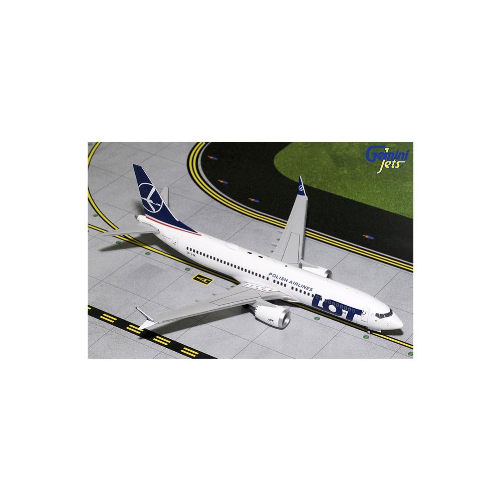 Gemini Jets Boeing 737 MAX 8 LOT