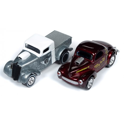 Johnny Lightning Twin Pack - Willys Gassers
