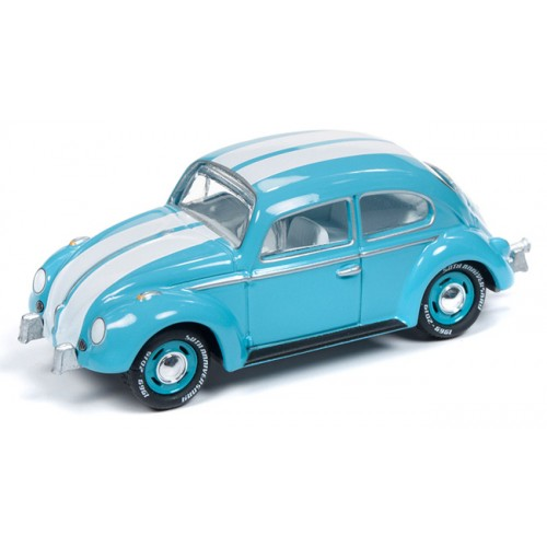 Johnny Lightning Classic Gold - 1966 Volkswagen Beetle