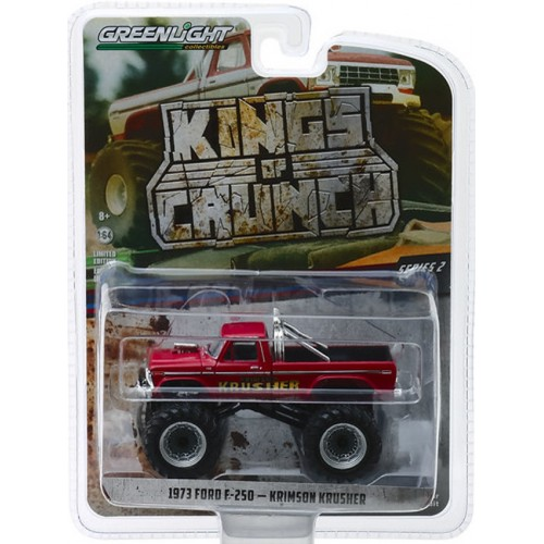 Greenlight Kings of Crunch Series 2 - 1973 Ford F-250 Krimson Krusher