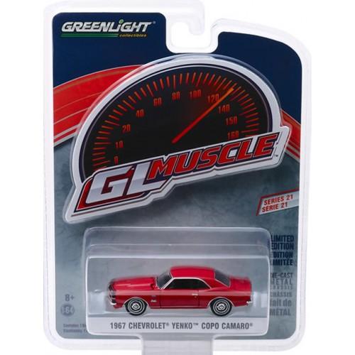 GL Muscle Series 21 - 1967 Chevy Yenko Camaro