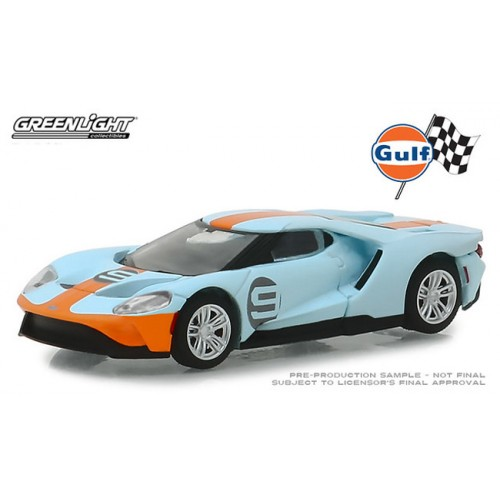 Greenlight Hobby Exclusive - 2019 Ford GT Gulf Racing