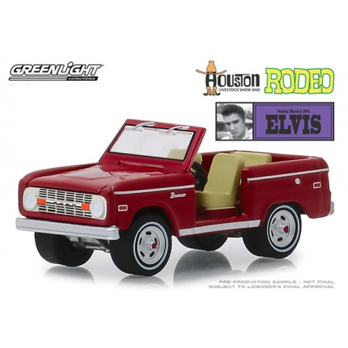 Greenlight Hobby Exclusive - Elvis Presley Ford Bronco