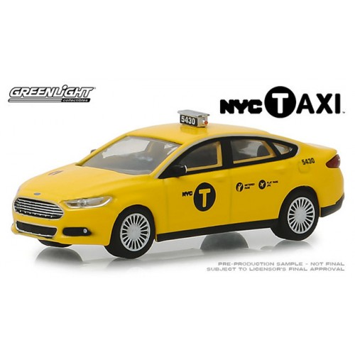 Greenlight Hobby Exclusive - 2013 Ford Fusion NYC Taxi